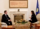 President Jahjaga received the Minister for European Affairs of the Kingdom of Denmark, Mr Nicolai Wamman
